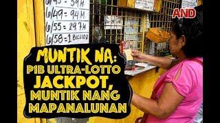 Download MUNTIK NA! P1B ultra-lotto jackpot, muntik nang mapanalunan Video