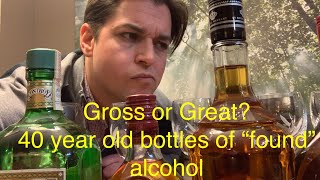 Download Gross or Great?! taste testing old ″found″ bottles of alcohol Video