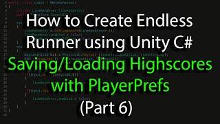 Download Create an Endless Runner using Unity C# (Pt 6) PlayerPrefs, Highscore Saving & Loading Video