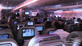 Download Emirates A380- 800 Amazing Takeoff From Dubai to London & Night Landing At Heathrow Video