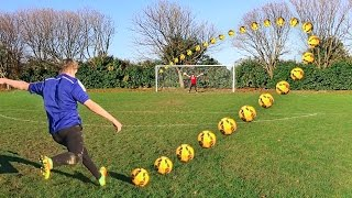 Download THE BEST GOAL EVER IN A FOOTBALL CHALLENGE Video