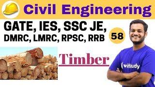 Download 3:00 PM - Civil Engineering 2018 | Civil Engineering by Nikhil Sir | Timber Video