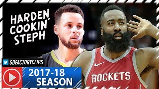 Download James Harden vs Stephen Curry SICK Duel Highlights (2018.01.20) Rockets vs Warriors - CLUTCH Harden! Video