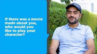 Download 25 questions with Rashid Khan Video