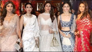 Download Bollywood Actresses HOT Look At Isha Ambani's Wedding- Kareena, Alia, Karisma, Deepika Video