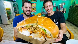 Download 5 KG. MONSTER SANDWICH - Brazilian Food Tour in Curitiba, Brazil! Video