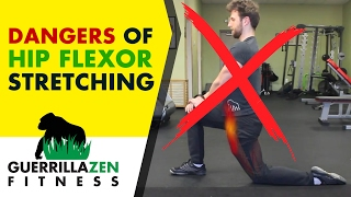 Download DANGERS of Stretching the Hip Flexors! | DON'T DO THIS! Video