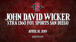 Download SDSU ATHLETICS: JOHN DAVID WICKER - XTRA 1360 FOX SPORTS SAN DIEGO Video