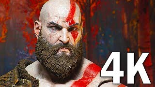 Download GOD OF WAR 4 - 16 Minutes of Gameplay Demo PS4 (2018) 4K Video