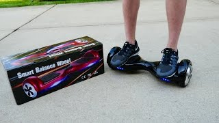 Download Hoverboard Unboxing & First Ride! (Self Balancing, 2-Wheel) Smart Electric Scooter Video