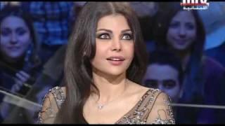 Download Haifa Wahbe on MTV Lebanon (ARABIC) Part 1 Video