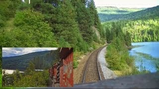 Download Kootenay Valley Railway (Canadian Pacific) Cabride - Trail to Nelson, BC on an SD40-2 Video