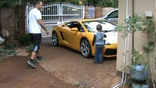 Download Lamborghini school run Video