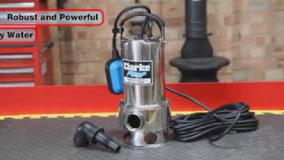 Download Clarke PVP11A Stainless Steel Dirty Water Submersible Pump Video