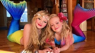 Download The legend of the Magic Mermaid. Princess Ella and playdoh girl make a wish and become real mermaids Video