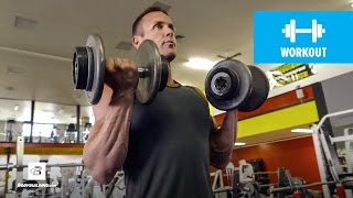 Download Quick 20-Minute Upper-Body Workout | IFBB Pro Brandan Fokken Video
