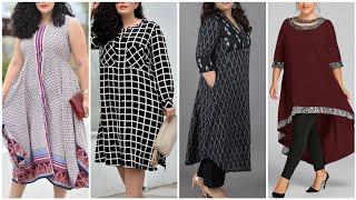 Download New 50+ Plus Size Long Kurties Designs /Plus Size Shirts Video