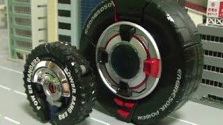 Download đồ chơi siêu nhân Cơ Động Power Rangers RPM Tire Robot Toys 파워레인저 엔진포스 장난감 Video
