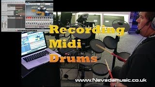 Download Recording drums with BFD, Logic and Yamaha DTX400K Drum Kit Video