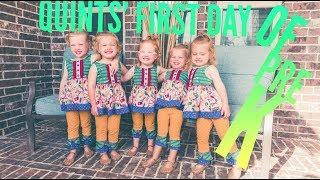 Download Quints' First Day of Pre K Video