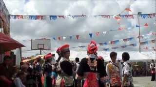 Download Hmong French Guiana noj peb caug dance Video