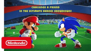 Download Mario & Sonic at the Rio 2016 Olympic Games - Heroes Showdown Trailer Video