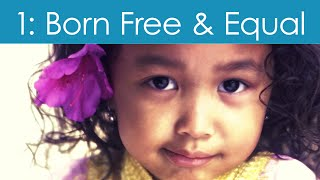 Download Human Rights Video #1: Born Free and Equal Video