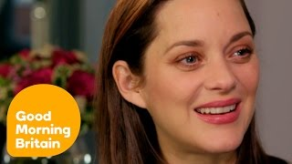 Download Marion Cotillard Reveals She Had to Teach Brad Pitt French! | Good Morning Britain Video