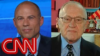 Download Michael Avenatti, Alan Dershowitz debate gets personal Video