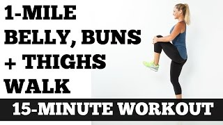 Download Walk at Home Low Impact Full Length Workout: 1 Mile Belly Buns and Thighs Walk Video