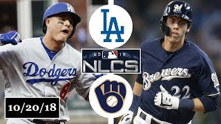 Download Los Angeles Dodgers vs Milwaukee Brewers Highlights || NLCS Game 7 || October 20, 2018 Video