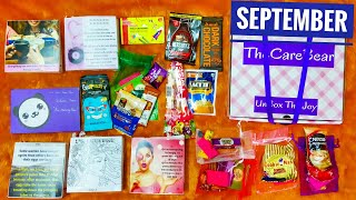 Download The Care Bear Box September 2018 |Period Pampering @ 499|10% discount |Unboxing and Review Video