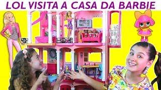Download LOL NA CASA GIGANTE DA BARBIE - Mileninha Video