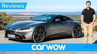 Download New Aston Martin Vantage 2018 review - see why it IS worth £120,000! Video