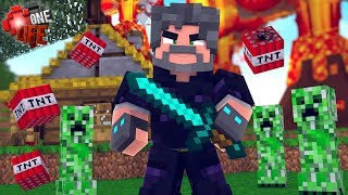 Download OBSIDIAN ARMOR IS CREEPER-PROOF!! | Minecraft: One Life [#2] Video