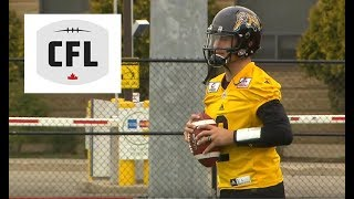 Download First look at Johnny Manziel in the CFL Video