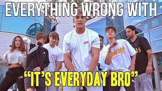 Download Everything Wrong With Jake Paul ″It's Everyday Bro″ Video