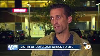 Download Marine veteran injured in wrong-way, DUI crash Video