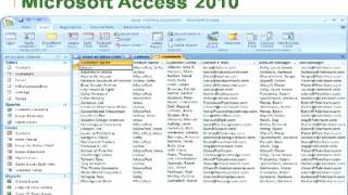 Download Creating and Managing Research Databases in Microsoft Access Video
