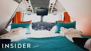 Download What It's Like To Sleep In A Boeing 747 Hotel Room Video