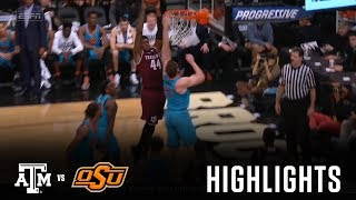 Download Men's Basketball: Highlights | A&M 72, Oklahoma State 55 Video