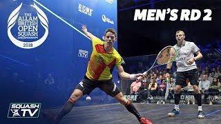 Download Squash: Allam British Open 2018 - Men's Rd 2 Roundup [Part 2] Video