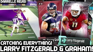 Download LARRY FITZGERALD & JIMMY GRAHAM CATCH EVERYTHING! Madden 18 Ultimate Team Video