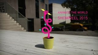 Download Showreel 2015 Commercial - Animate the World - Stop motion & Motion Graphics Video