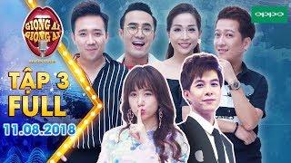 Download Giọng ải giọng ai 3|Tập 3 full:Trường Giang, Anh Tú ″gato″ với độ lãng mạn của Trấn Thành & Hari Won Video