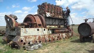 Download Enterprise DSG-36 Antique Diesel Engine First Fire up Video