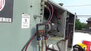 Download Rheem two stage rooftop AC compressor change Video