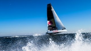Download Meet the F4: A Flying Catamaran Built for the Open Ocean Video