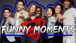 Download Supergirl Cast Funny Moments Video