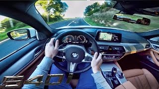 Download BMW 5 Series G30 M Sport 540i POV Test Drive by AutoTopNL Video